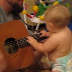 Adorable Baby Rocks Out to Bon Jovi