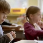 Adorable commercial of kid who reads more and inspires more.
